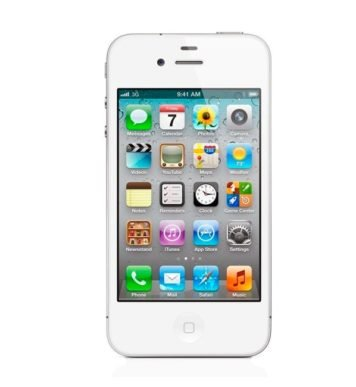 iPhone 4S 32GB White-фото