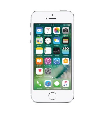 iPhone 5s 16GB Silver-фото