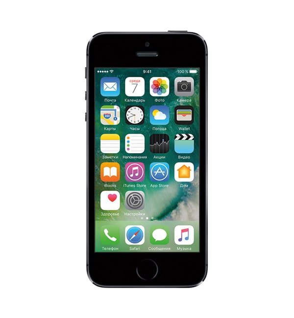 iPhone 5s 16GB Space gray-фото