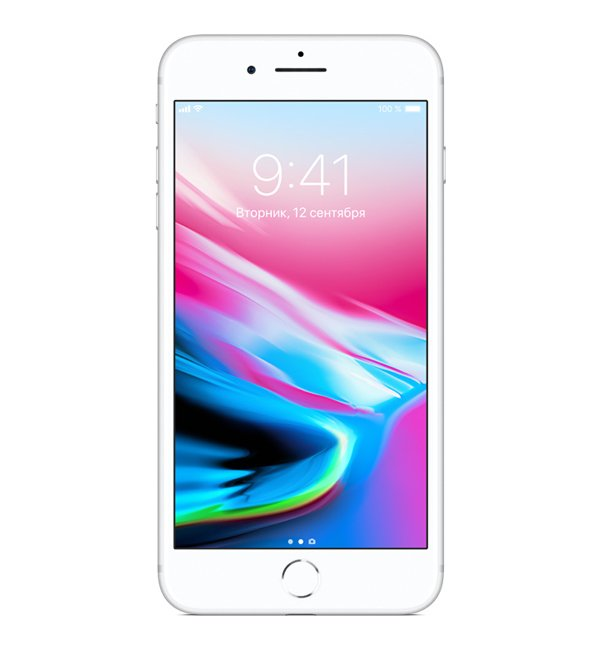 iPhone 8+ 256GB Silver-фото